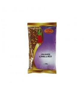 Peperoncino rosso schiacciato detto SCHANI - spezia indiana - 100g