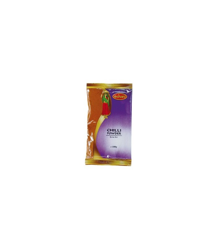 Chili En Polvo Extra Picante - SCHANI - Especia Hindú - 100 g