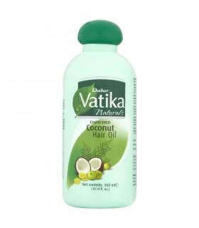 Aceite De Coco Enriquecido Para El Cabello - VATIKA - 300 ml