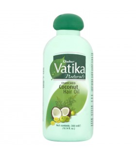 Óleo de coco rico para cabelo - VATIKA - 300ml