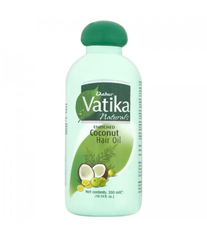 Rich coconut oil for hair - VATIKA - 300 ml