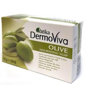 Питательное мыло оливковое - VATIKA - 115 г