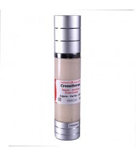 Cremiserum Anti-Arrugas - Reparador - Iluminador -Argán- Karité - Aloe - 50 ml