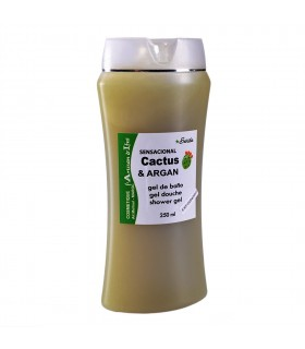 Gel De Baño -Natural -  Cactus y Argán - 250 ml