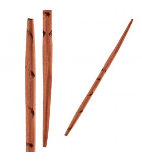 Palito kujul - madeira - artesão de produto - 12cm