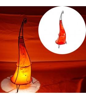 Lampen mit Schmiede und Haut mit Henna - verschiedene Modelle bemalt
