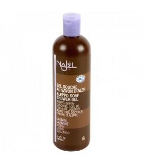 Gel douche de savon d'Alep - NAJEL - Jasmine - ECO - 500 ml