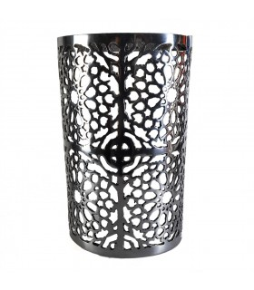 Aplique Pared Alumino Calado - Mosaico Alhambra - Acabado Pulido - 29 cm