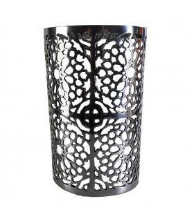 Ferro parede mosaico de profundidade - metade-cilindro - Alhambra - 29 cm
