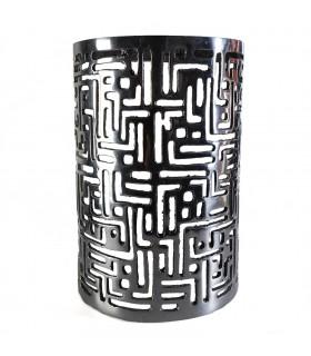 Mur de plume - moyenne cylindre - fer écrit Kufica - 28'5 cm cm29