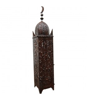 -High - iron openwork lamp design Arabic Moon