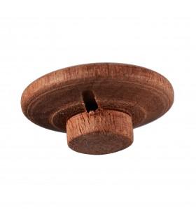 Bouton bois - main - de sculpture fait 3 cm