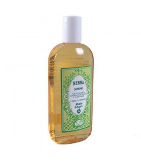 Hena shampoo com extratos naturais de jasmim e verde noz - cabelos normais - Radhe Shyam - 250ml