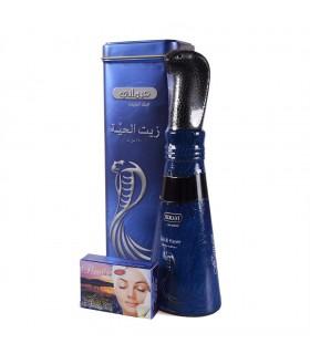 Huile de serpent - HEMANI - capillaire de soin - 250 g - comprend cadeau savon