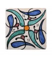 Tile Andalusi - 10 cm - several designs - handcrafted - model 14