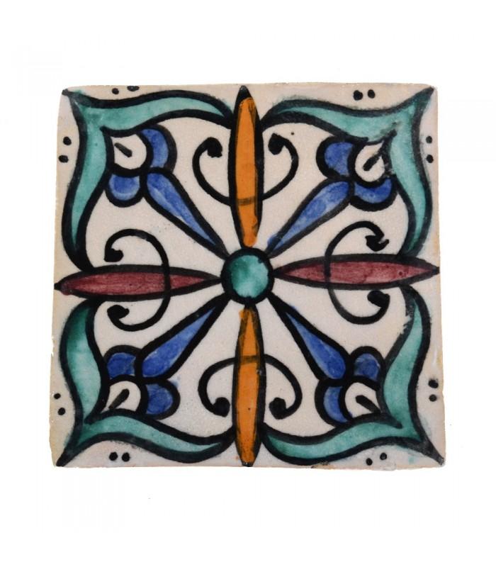 Al-Andalus - 14,5 cm - several designs - handcrafted tile - model 15