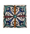 Al-Andalus - 10 cm - several designs - handcrafted tile - model 15