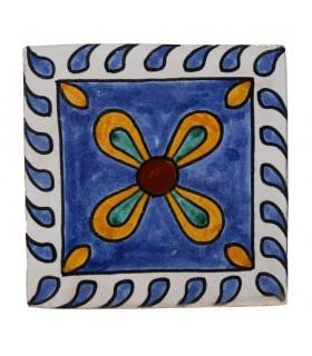Al-Andalus - carrelage artisanal 14,5 cm - plusieurs motifs - - modèle 16