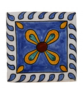 Azulejo Andalusí - 14'5 cm - Varios Diseños- Artesanal- Modelo 16