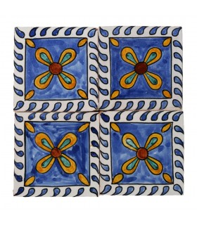 Al-Andalus - 14,5 cm - several designs - handcrafted tile - model 16