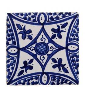 Al-Andalus - piastrelle artigianali di 14,5 cm - parecchi disegni - - modello 18