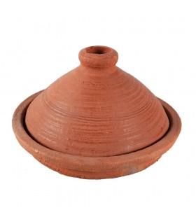 Tajín Arabe Rústico para Cocina - Cocina Casera Y Sana - 20 cm