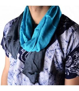 Cachecol estilo Tuareg de verão - 100% algodão - várias cores - 150 cm