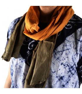 Summer scarf style Tuareg - 100% cotton - various colors - 150 cm