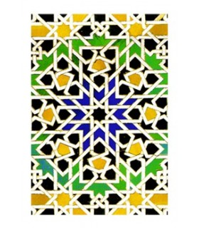 Book design mosaic - Souvenir Arabic - size A6 - 100 sheets