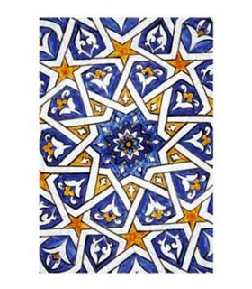 Prenotare design mosaico - Souvenir arabo - formato A6 - 100 fogli