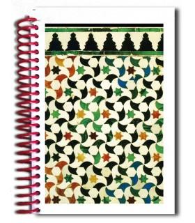 Книга дизайн мозаика - сувенир Арабский - размер A5 - 100 листов