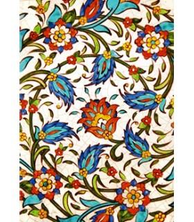 Postal Mosaico Árabe - Souvenir Granada - Modelo 2