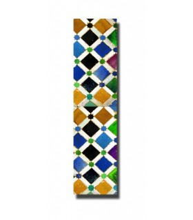 Marcapáginas Diseño Mosaico Árabe - Modelo 1 -  Producto Recomendado