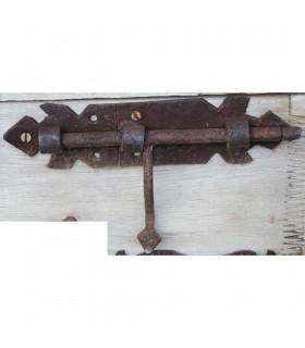 Chiavistello ferro battuto piccolo - rombo