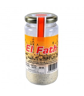 Ground white pepper - spices Arab - boat 90 gr