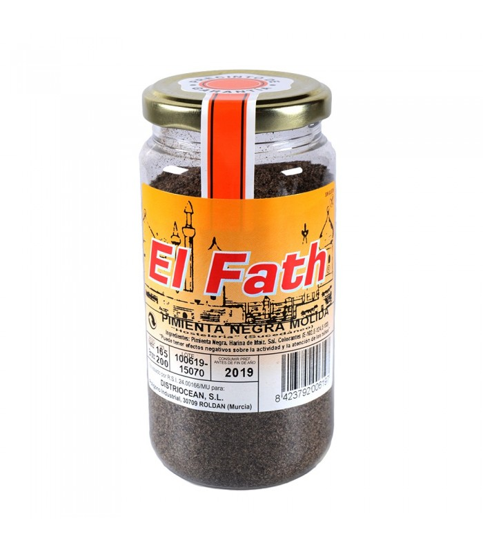 Ground black pepper - Arabica - Throw 150 gr