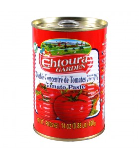 Concentrado de tomate - CHTOURA - 28/30% - colar 400g