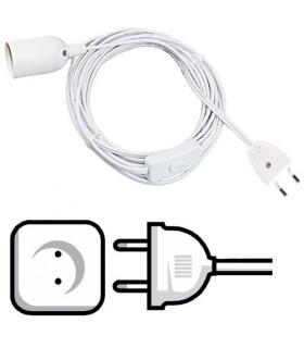 Instalação elétrica para abajur ou mesa de luz
