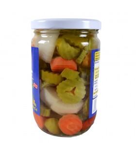Misto de picles de vegetais - CHTOURA - 600g