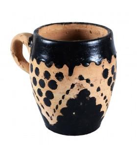 Verre berbère - main - peinture 10 cm