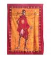 Cotton fabric India-Hunter Masai -Artesana-140 x 210 cm