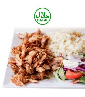Kebab Pollo Asado y Loncheado - Halal - Bandeja 1 kg - Payan