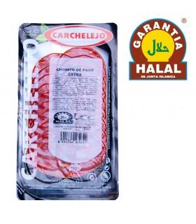 Salami Extra Turkey 80 gr - Gourmet - Halal - Carchalejo
