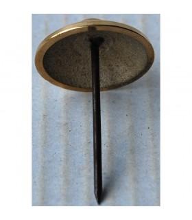 Prego dourado bronze - 4cm