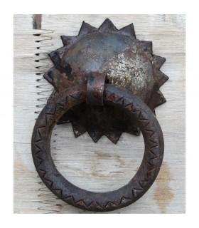 Tirador de Forja Redondo - Emebellecedor - 8 cm