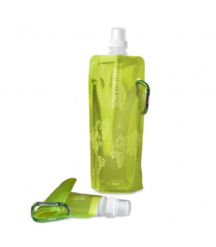 Botella Plegable - 0,5 L - Ideal Deportes Montaña - Supervivencia