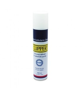 Gas ricarica CLIPPER - PREMIUM velleitario-Mecheros - 300 ml