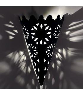 Aplique de Hierro Calado - Artesano - Diseño Arabe - Cono Invertido