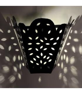 Profundidade de parede de ferro - artesão - design árabe - Marraquexe