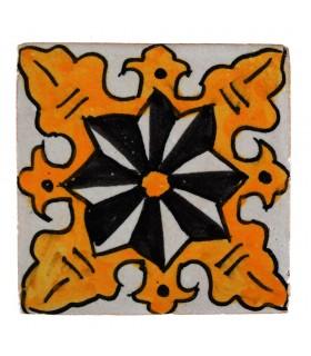 Al-Andalus - carreaux faits à la main 10 cm - plusieurs motifs - - modèle 22